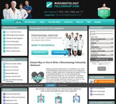 Rheumatology Fellowship Competitors, Revenue and Employees