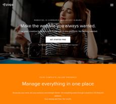 Pixpa website history
