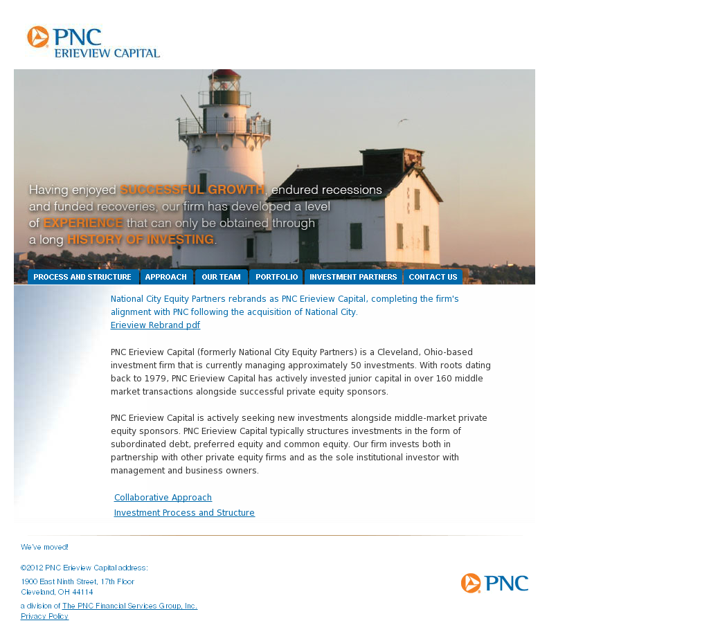 PNC Erieview Capital Competitors, Revenue and Employees