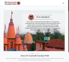 Sri Gopinath Gaudiya Math Competitors, Revenue and Employees