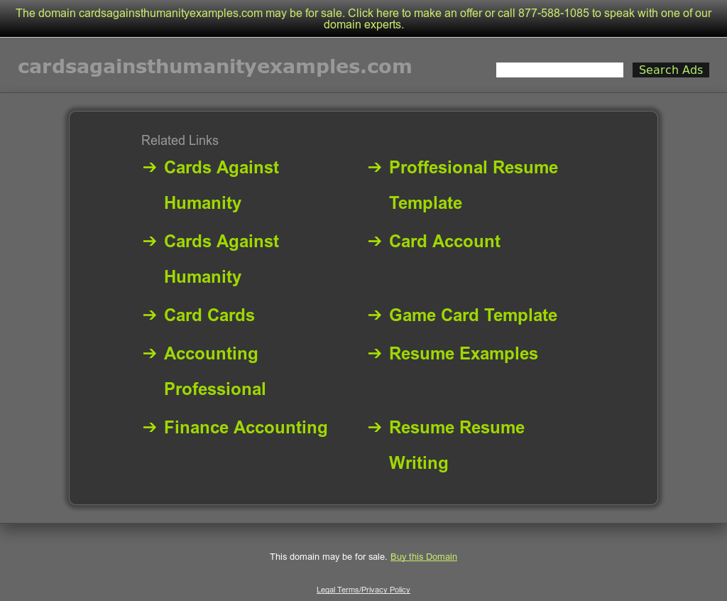 Cards Against Humanity Examples Competitors Revenue And Employees