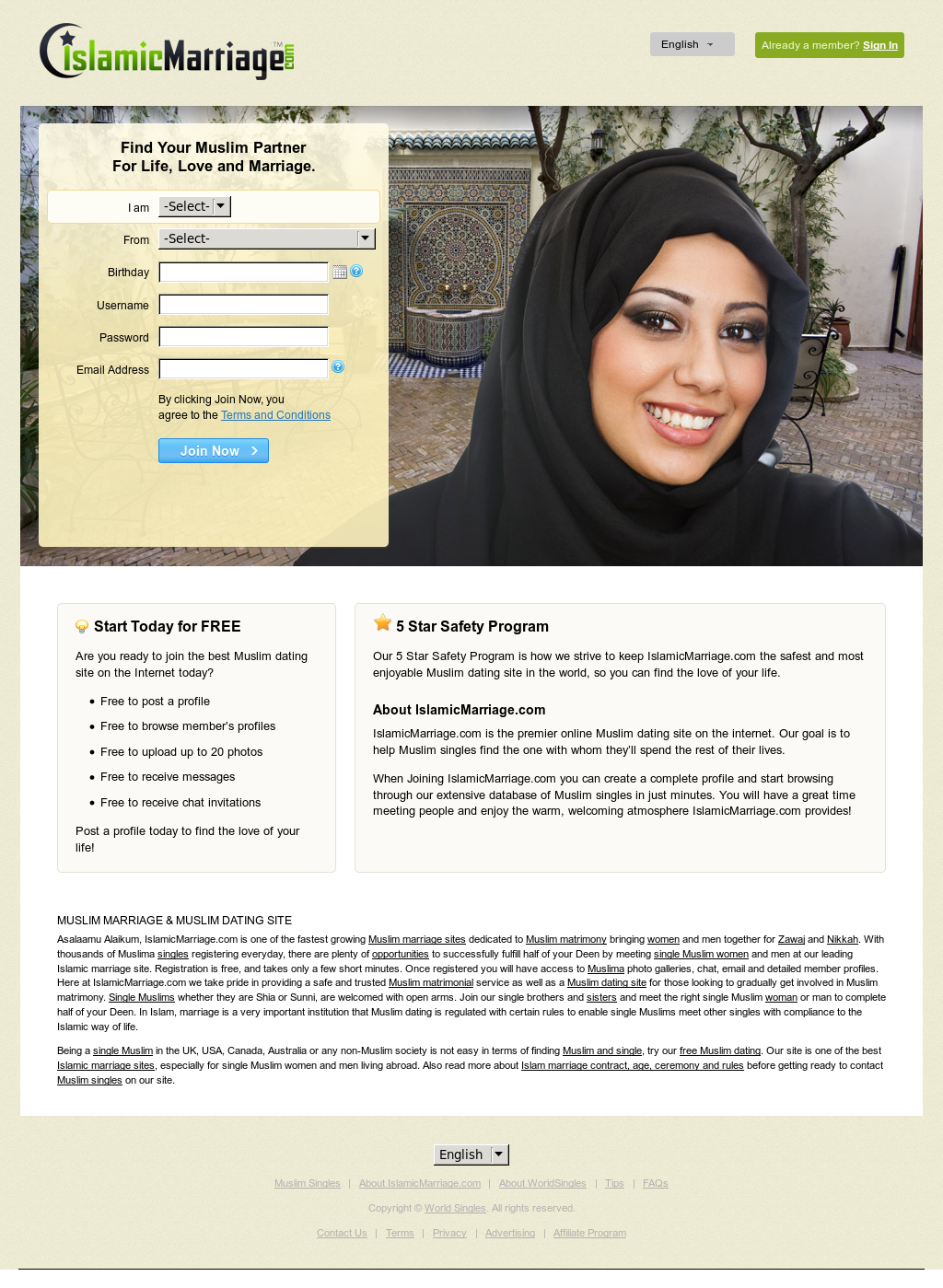 Dating-Website islam