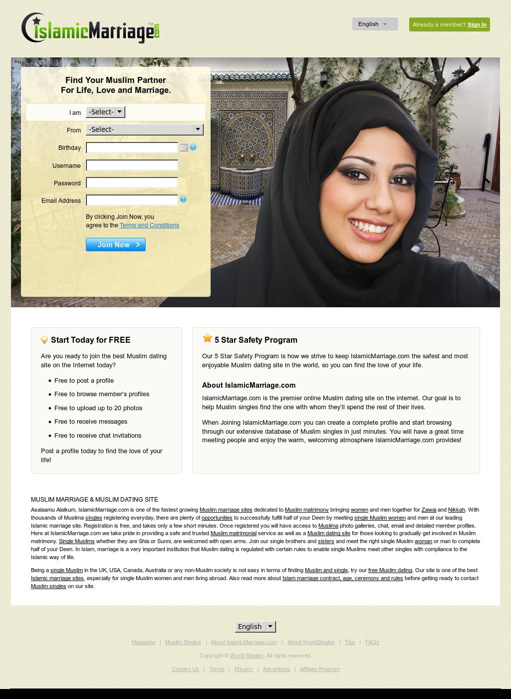 muslim online dating website