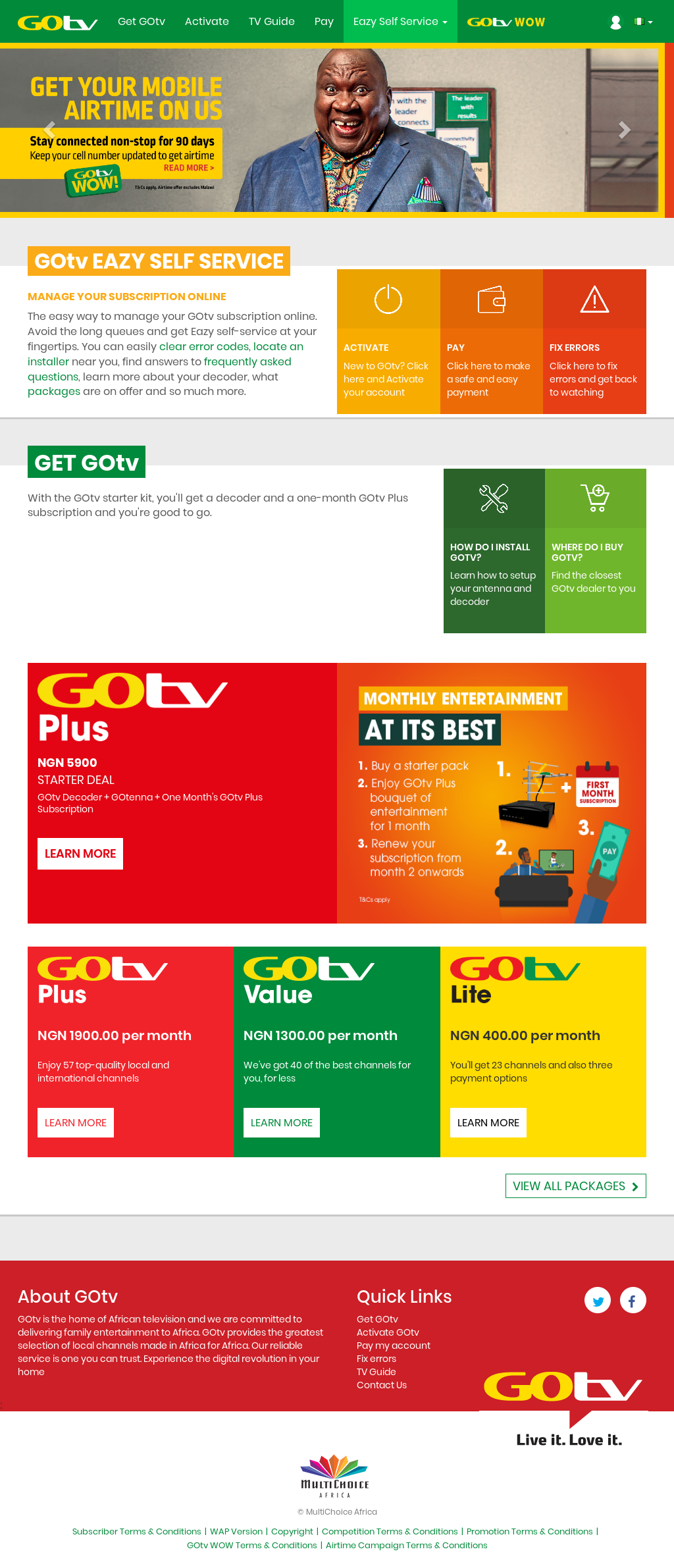 Owler Reports - GOtv Africa: ROK launches two brand new