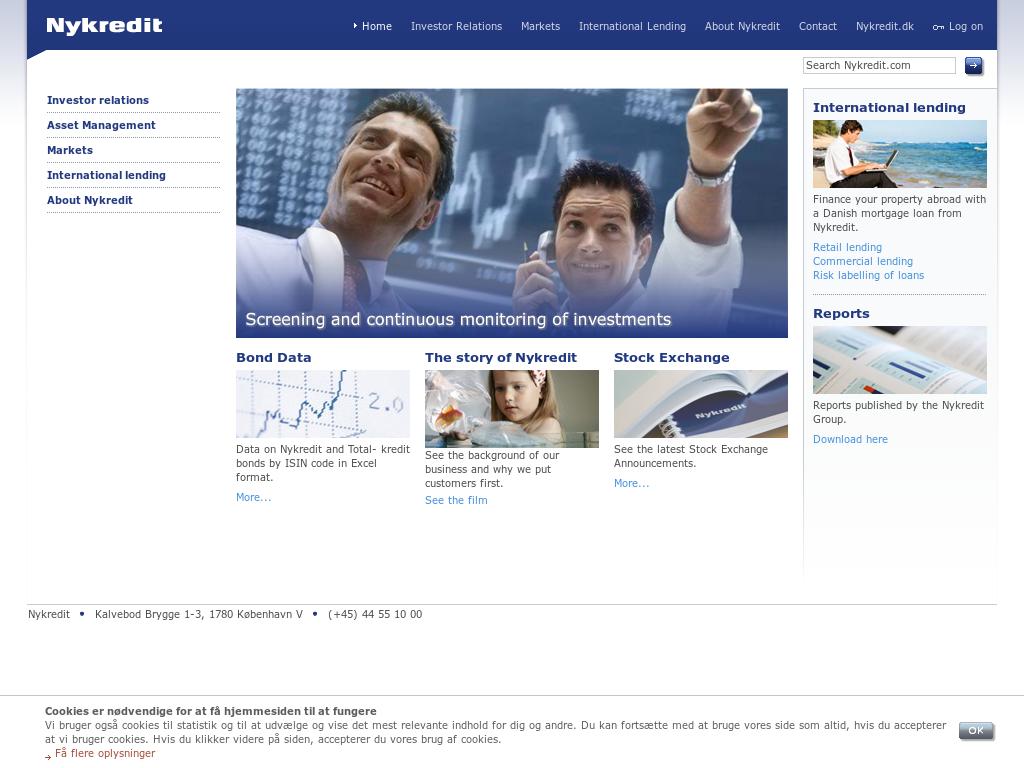 nykredit realkredit investor relations