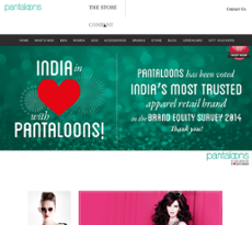 company profile of pantaloons Get the latest pantaloons fashion & retail stock price and detailed information  including news, historical  profile pantaloons fashion & retail more  the  company was founded on april 19, 2007 and is headquartered in mumbai, india.