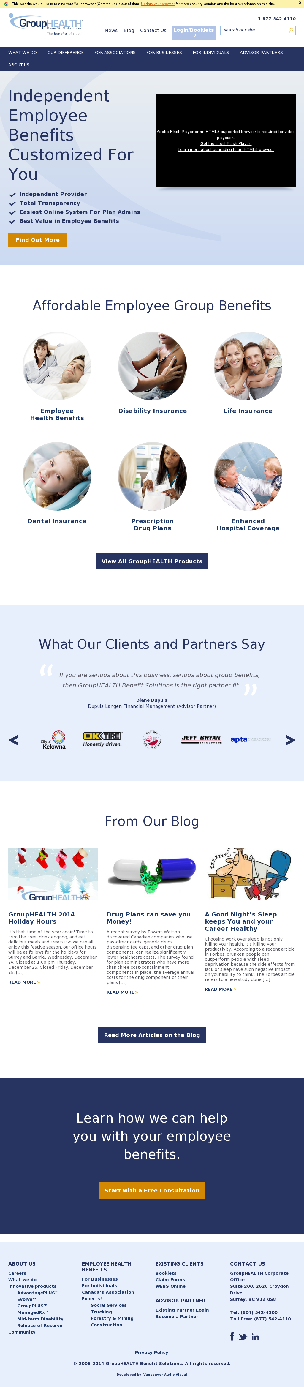 Group Health Website 60