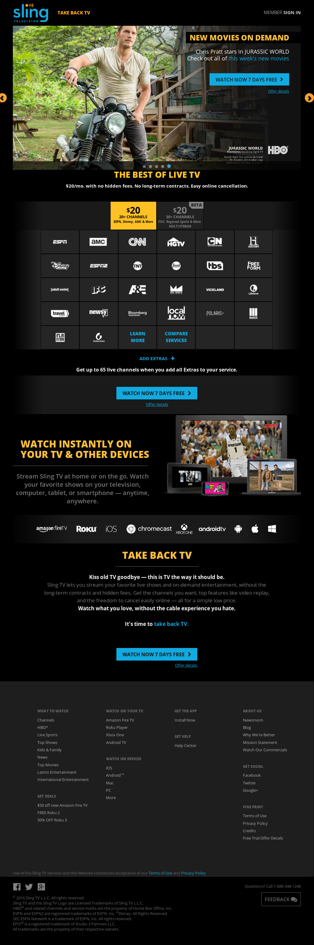 Sling TV Competitors, Revenue and Employees - Owler Company