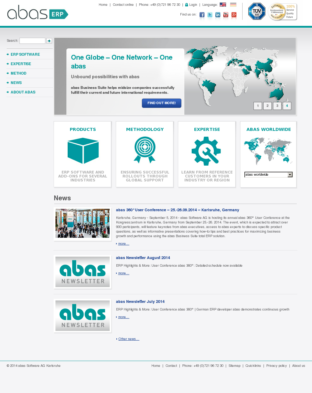Abas Software Competitors, Revenue and Employees - Owler