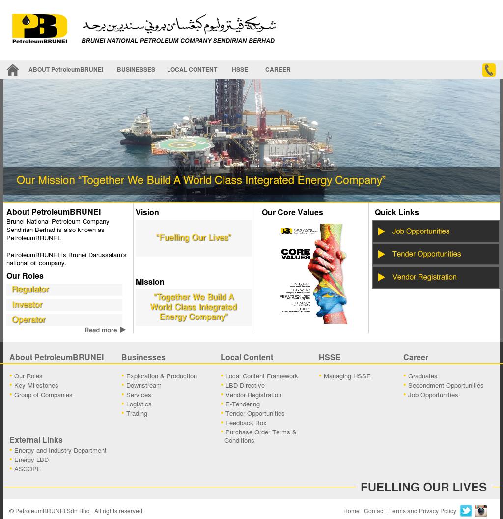 Petroleum Brunei Competitors, Revenue and Employees - Owler