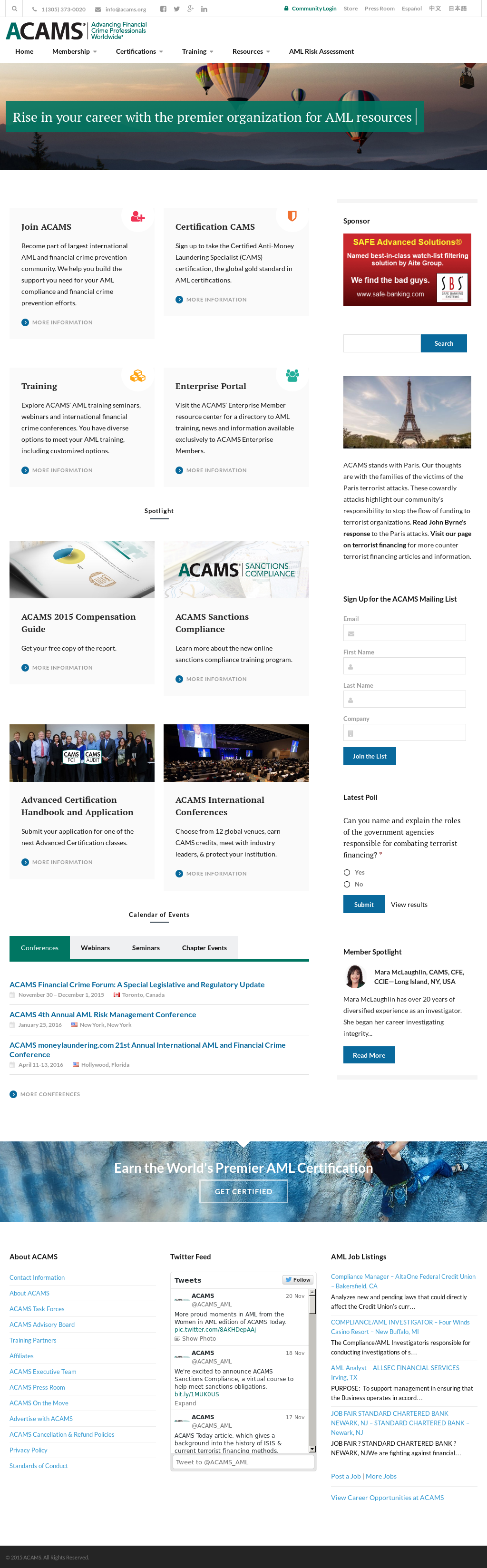 ACAMS Competitors, Revenue and Employees - Owler Company Profile