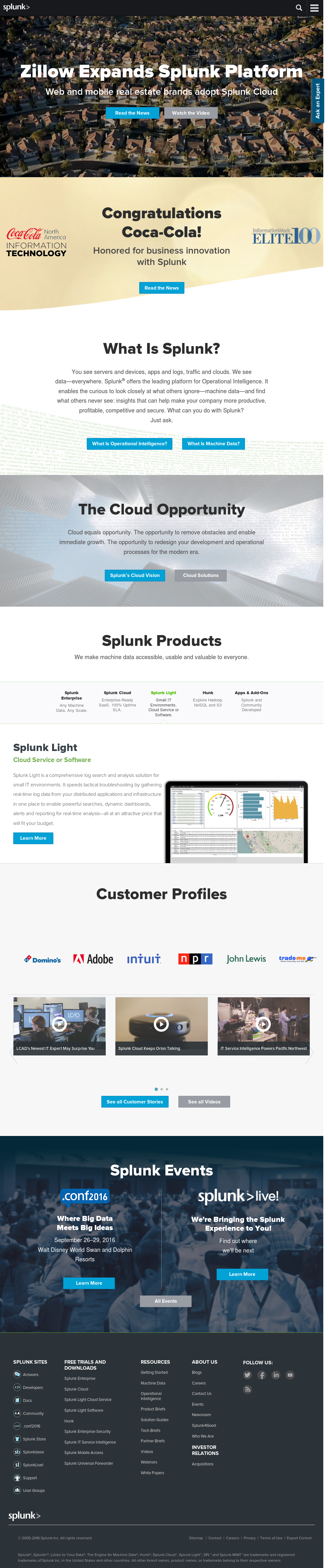 Splunk Competitors, Revenue and Employees - Owler Company Profile