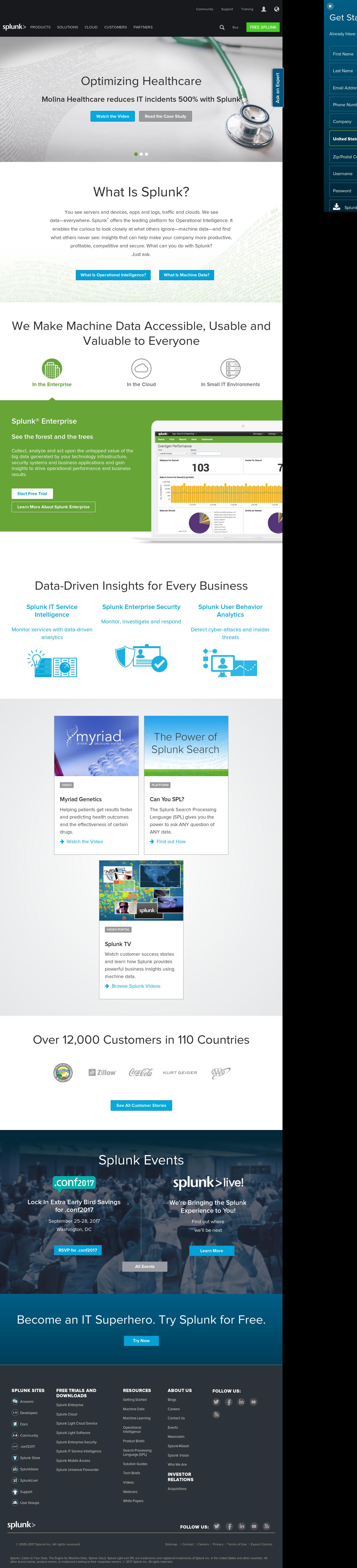 Splunk Competitors, Revenue and Employees - Owler Company Profile