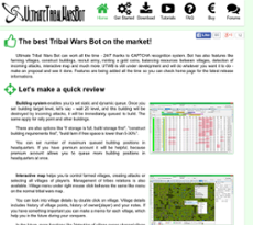 Ultimate Tribal Wars Bot Competitors, Revenue and Employees