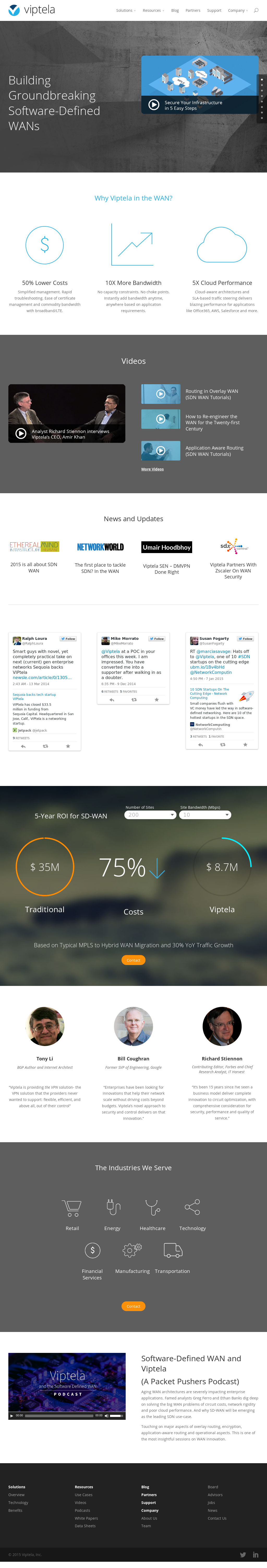 Viptela Competitors, Revenue and Employees - Owler Company Profile