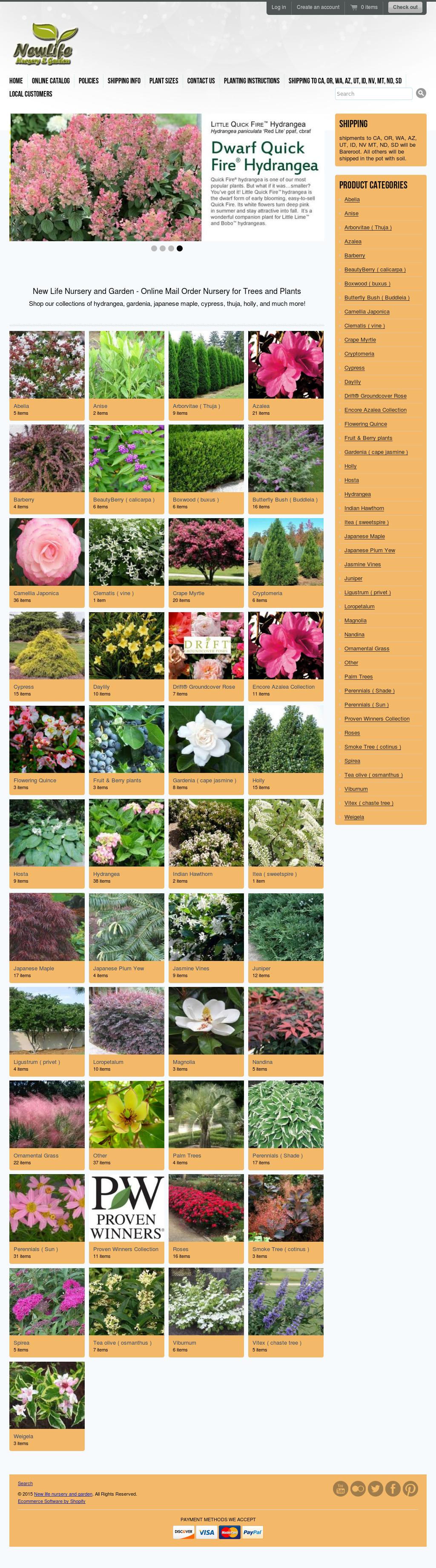 New Life Nursery And Garden Compeors Revenue