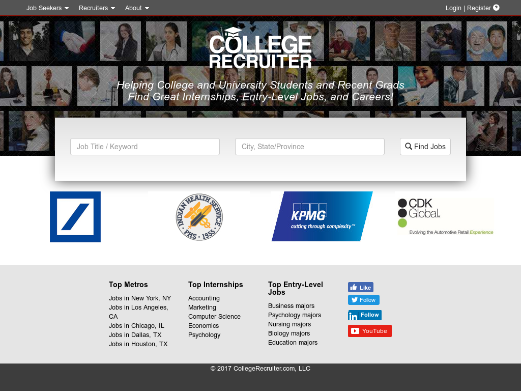 College Recruiter Competitors, Revenue and Employees - Owler Company