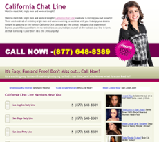 free phone chat california