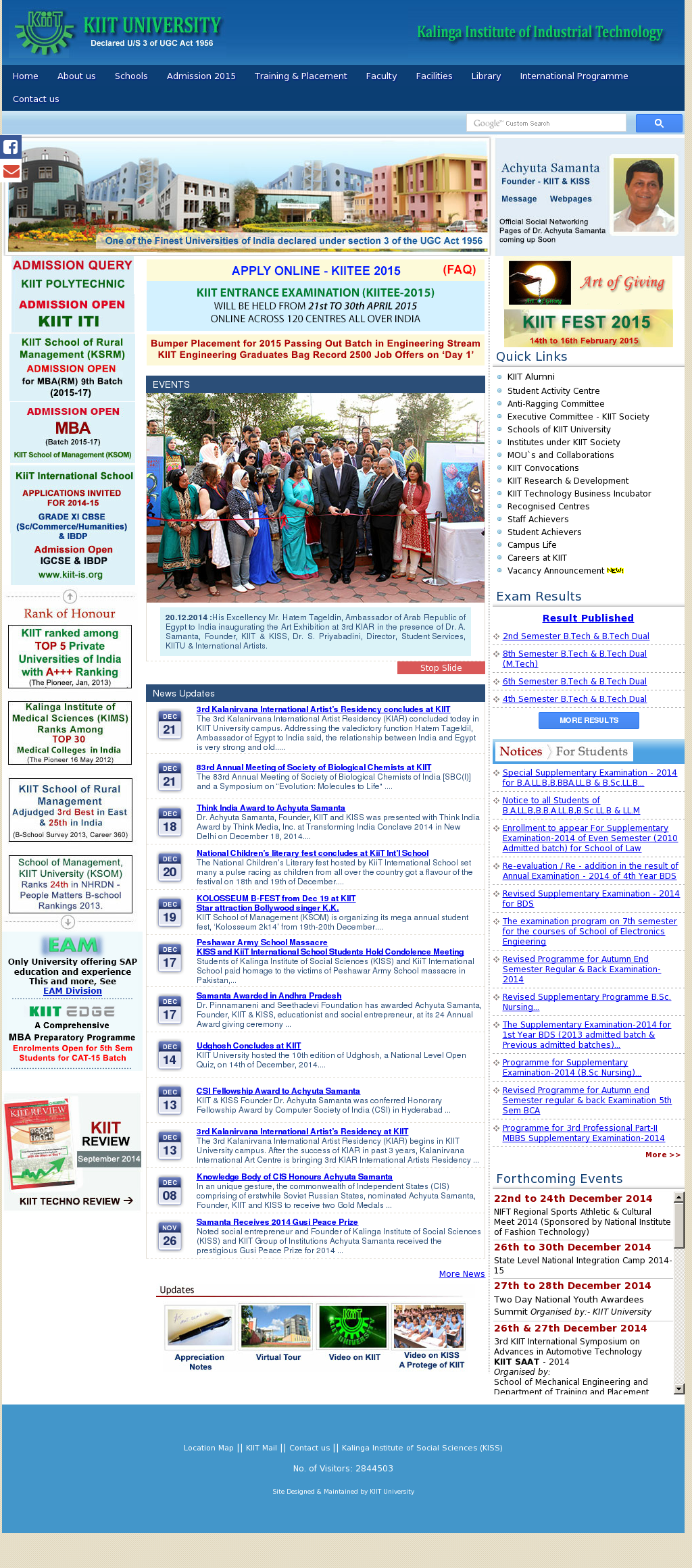 KIIT University Competitors, Revenue and Employees - Owler