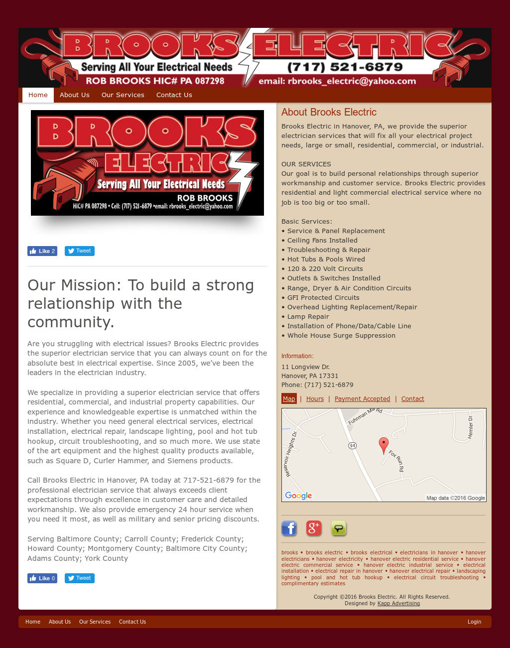 Brooks Electric Competitors Revenue And Employees Owler Company Circuits Website Profile