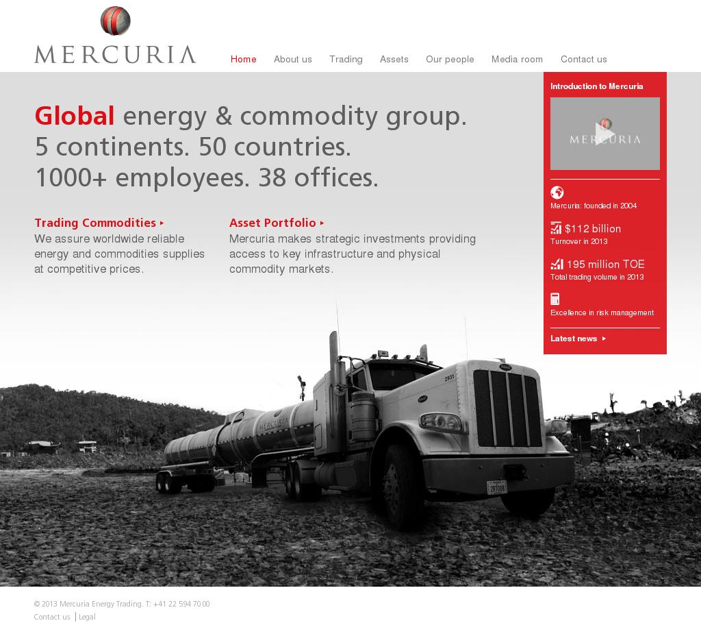 Mercuria Competitors, Revenue and Employees - Owler Company Profile