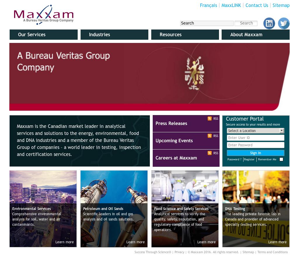 Maxxam Analytics Competitors, Revenue and Employees - Owler