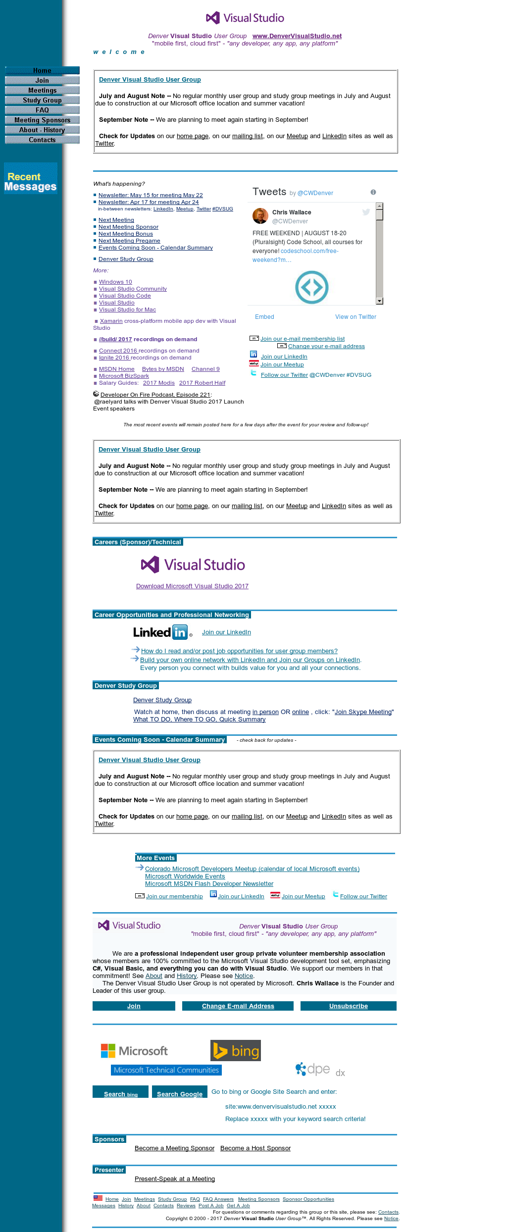 Denver Visual Studio User Group Competitors, Revenue and