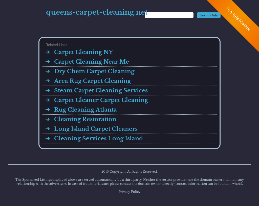 Queens Carpet Cleaning Competitors