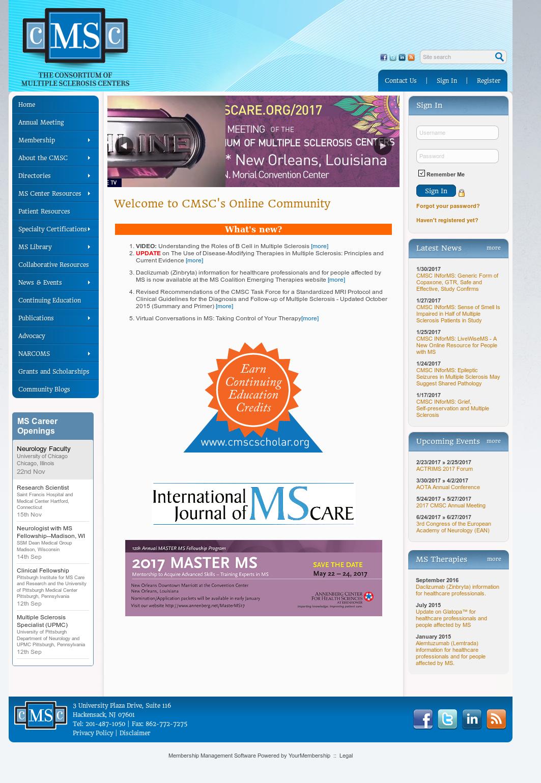 Owler Reports - Press Release: CMSC : Consortium of Multiple