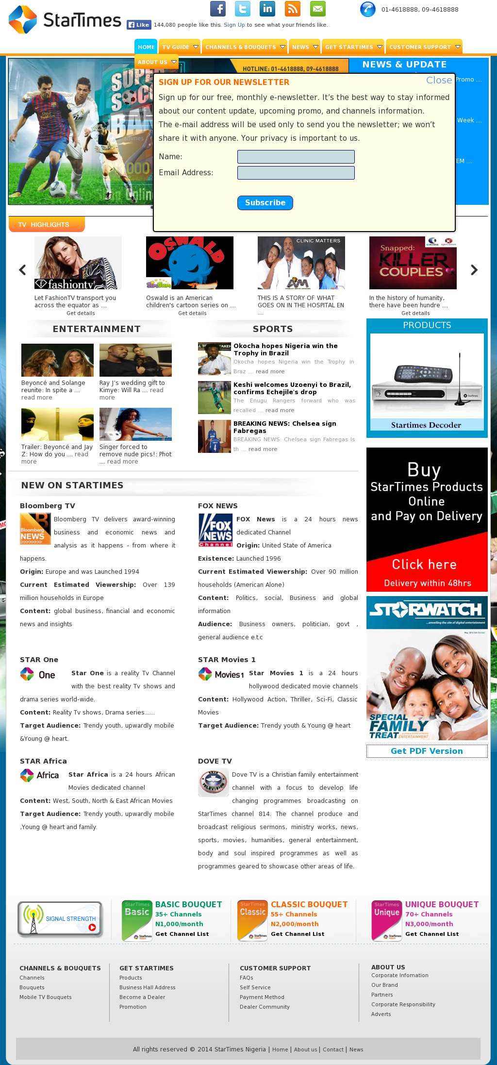 StarTimes Competitors, Revenue and Employees - Owler Company