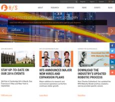 HfS website history