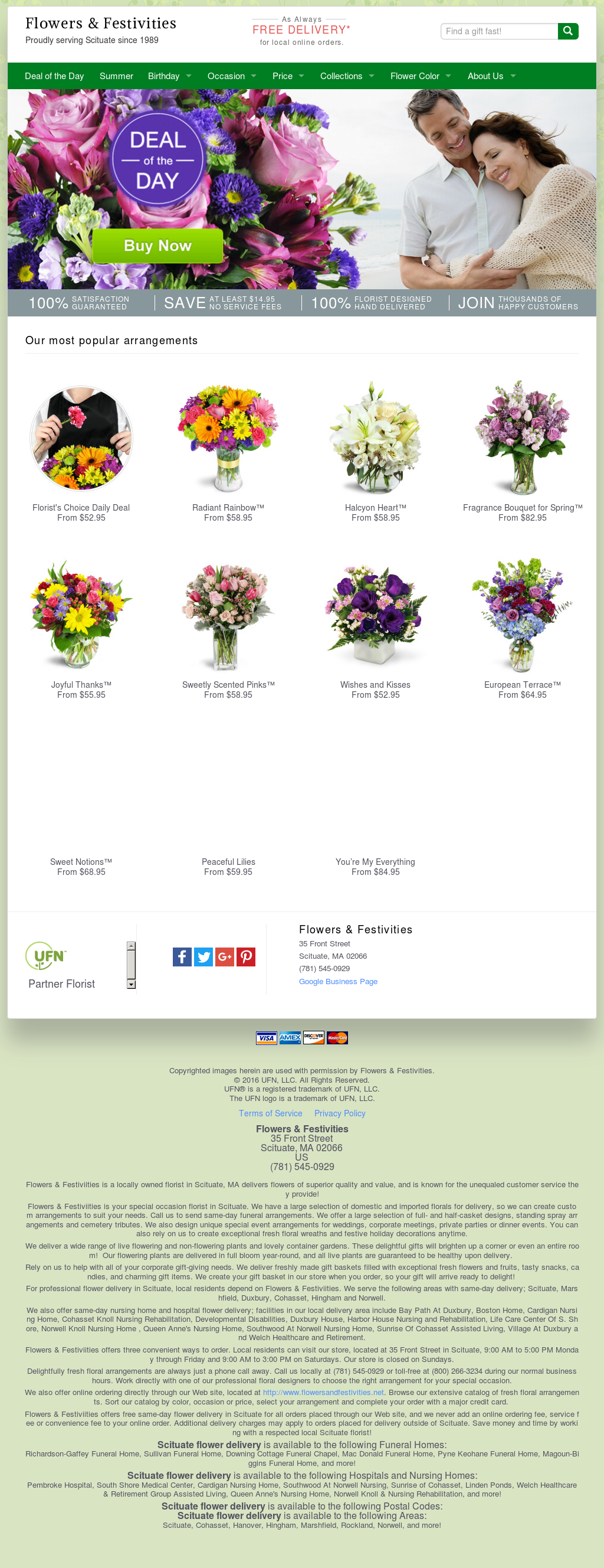 Flowers & Festivities Competitors, Revenue and Employees - Owler Company Profile