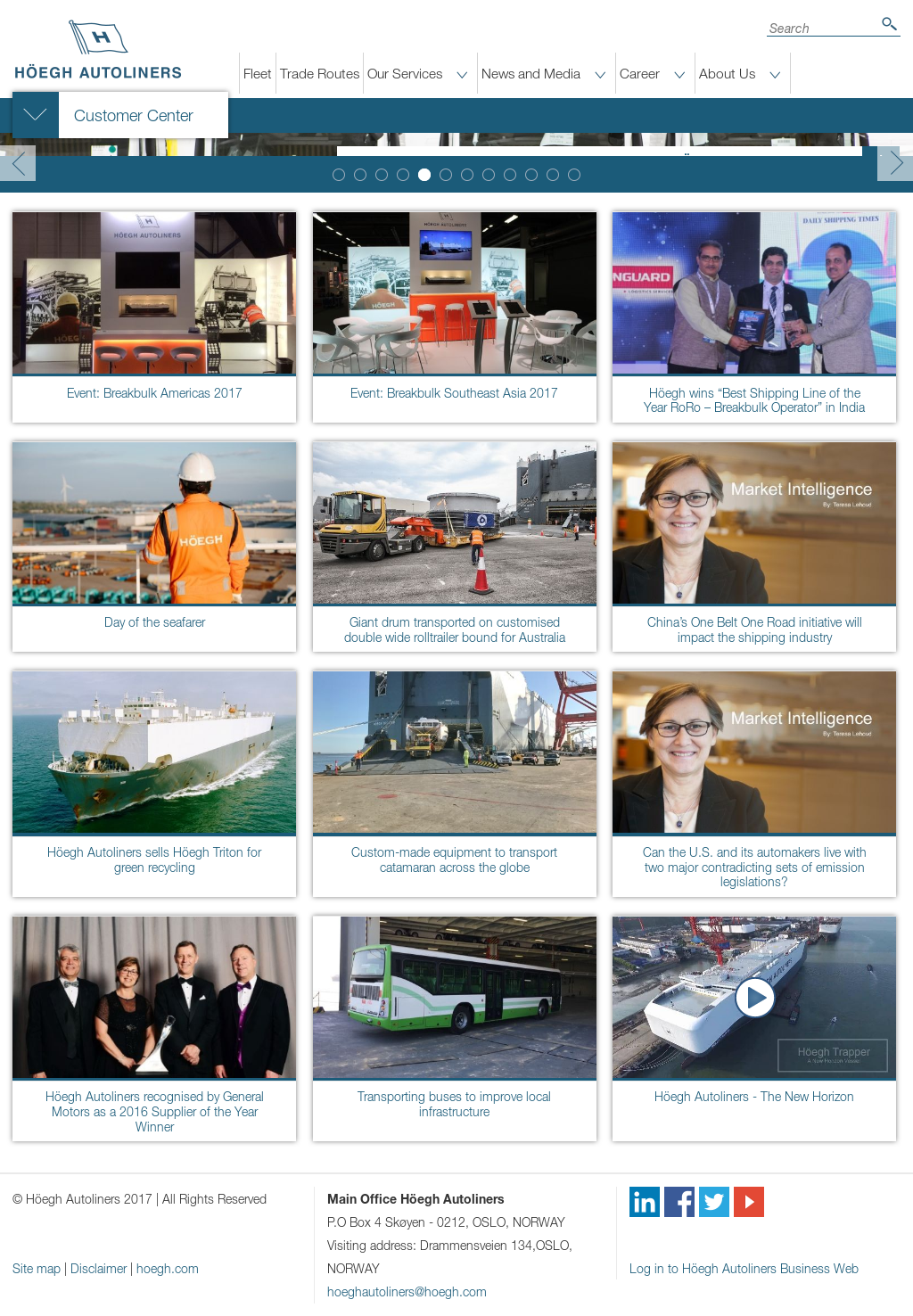 Höegh Autoliners Competitors, Revenue and Employees - Owler