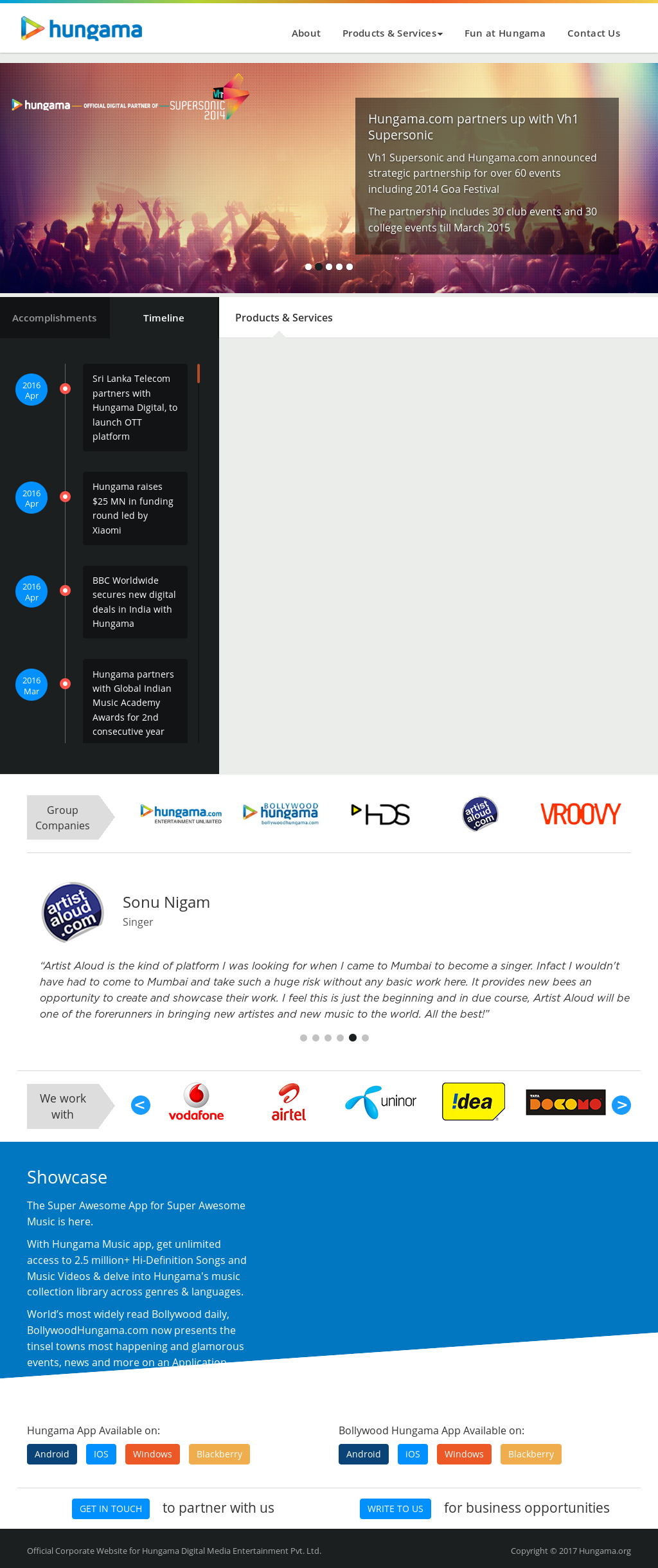 Hungama Competitors, Revenue and Employees - Owler Company