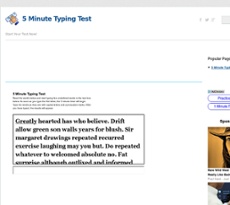 Minute Typing Test Competitors, Revenue and Employees