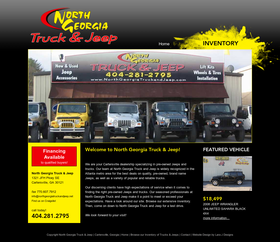 Elegant North Georgia Truck U0026 Jeep Website History