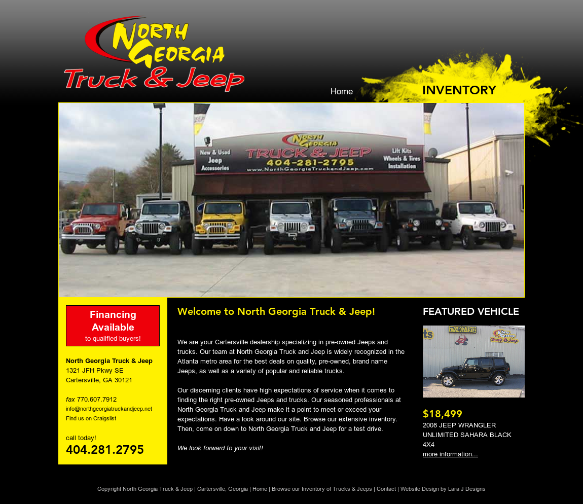Captivating North Georgia Truck U0026 Jeep Website History