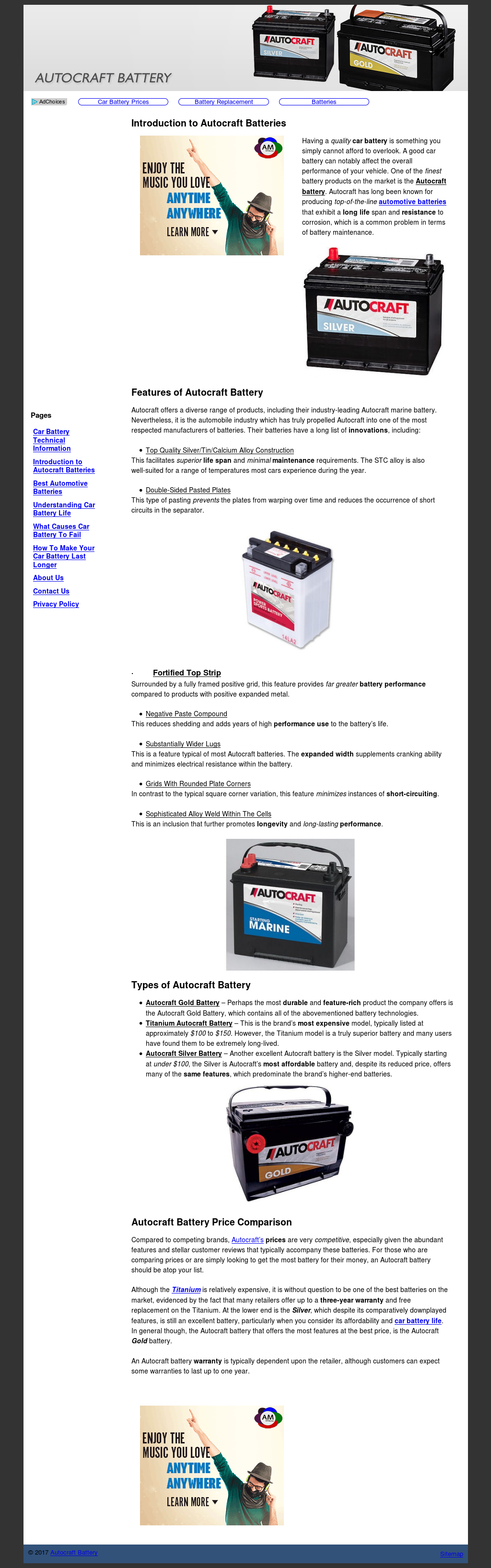 Autocraft Battery Review >> Autocraft Battery Competitors Revenue And Employees Owler