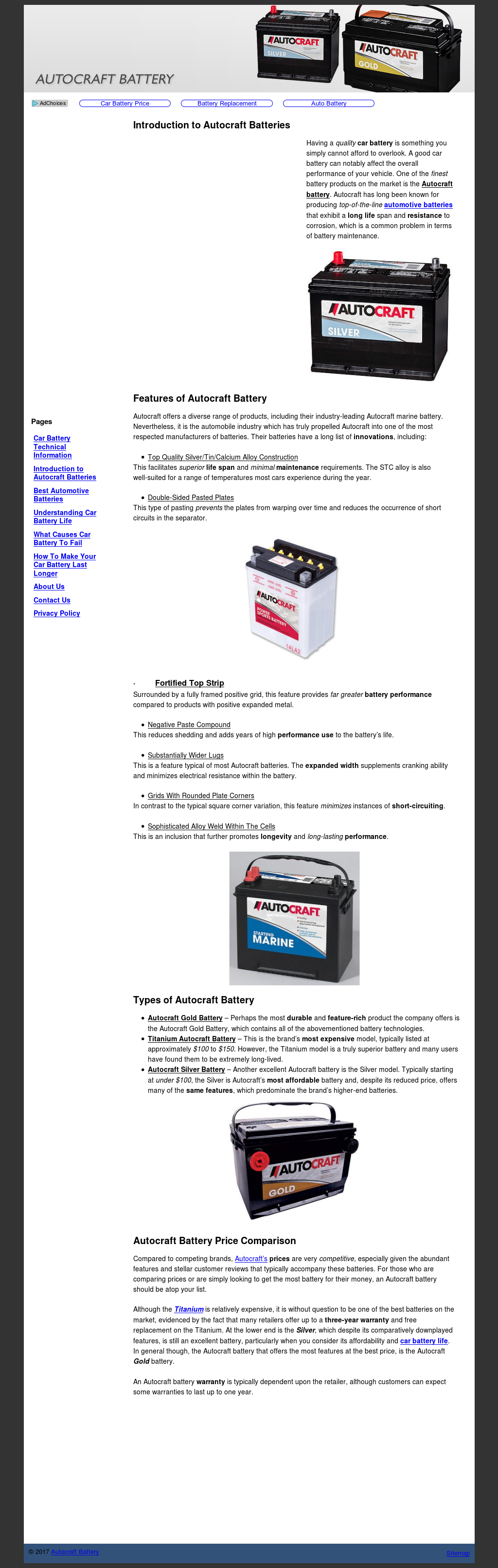 Autocraft Battery Review >> Autocraft Battery Competitors Revenue And Employees Owler Company