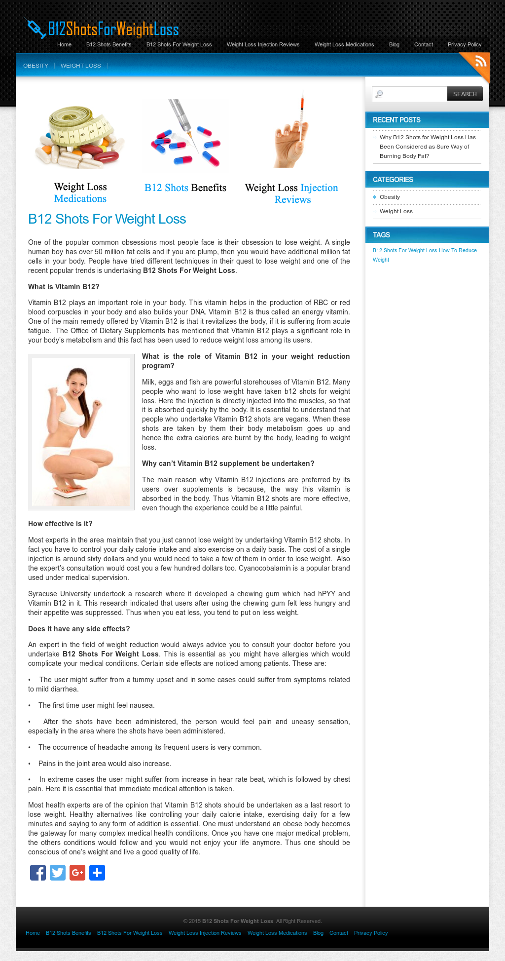 B12 Shots For Weight Loss Competitors, Revenue and Employees