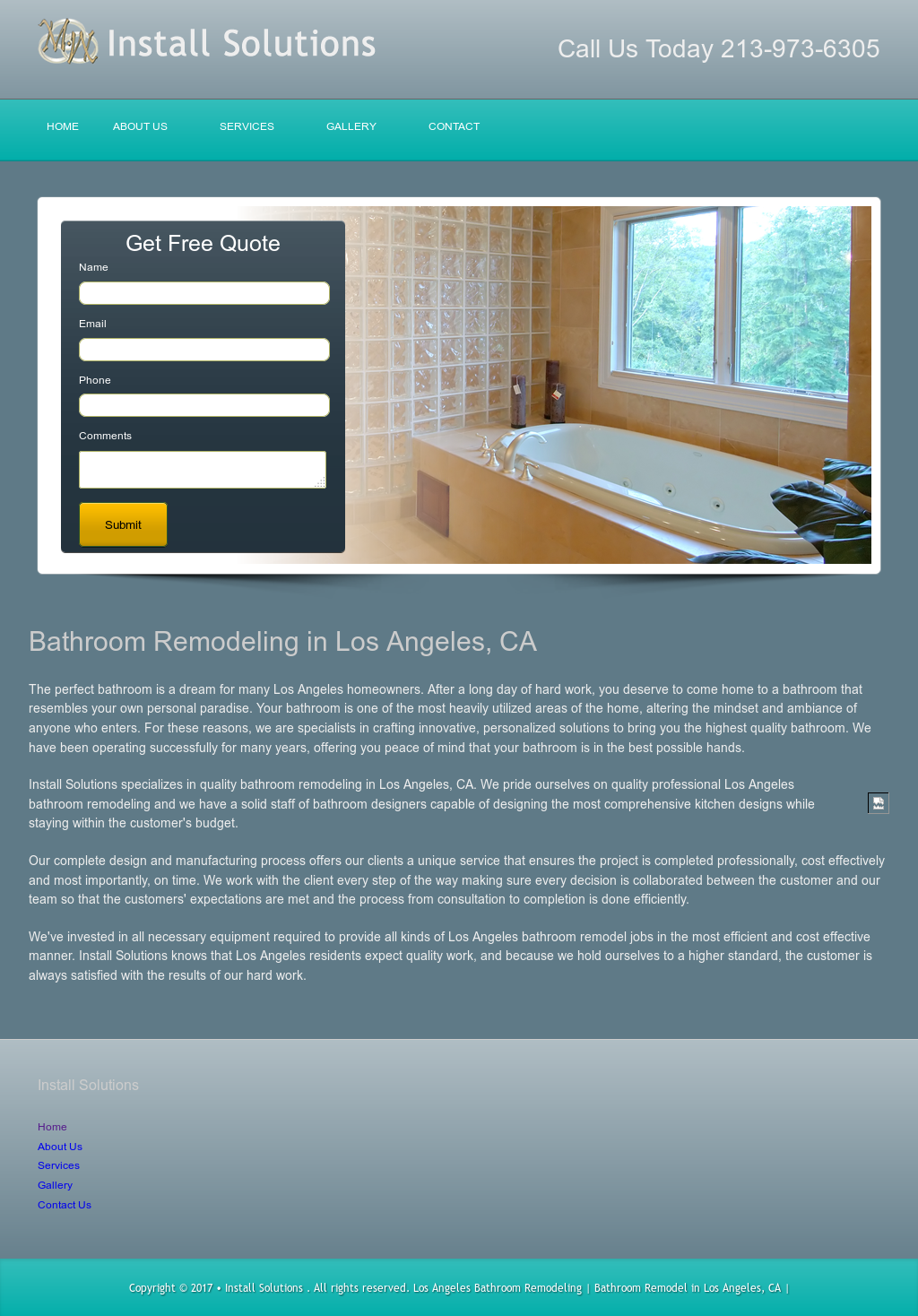 Los Angeles Bathroom Remodeling Competitors, Revenue and Employees ...