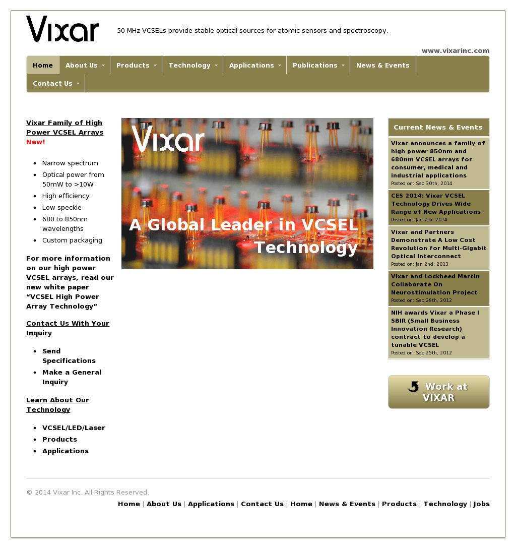 Owler Reports - Vixar: Vixar Announces a Family of High