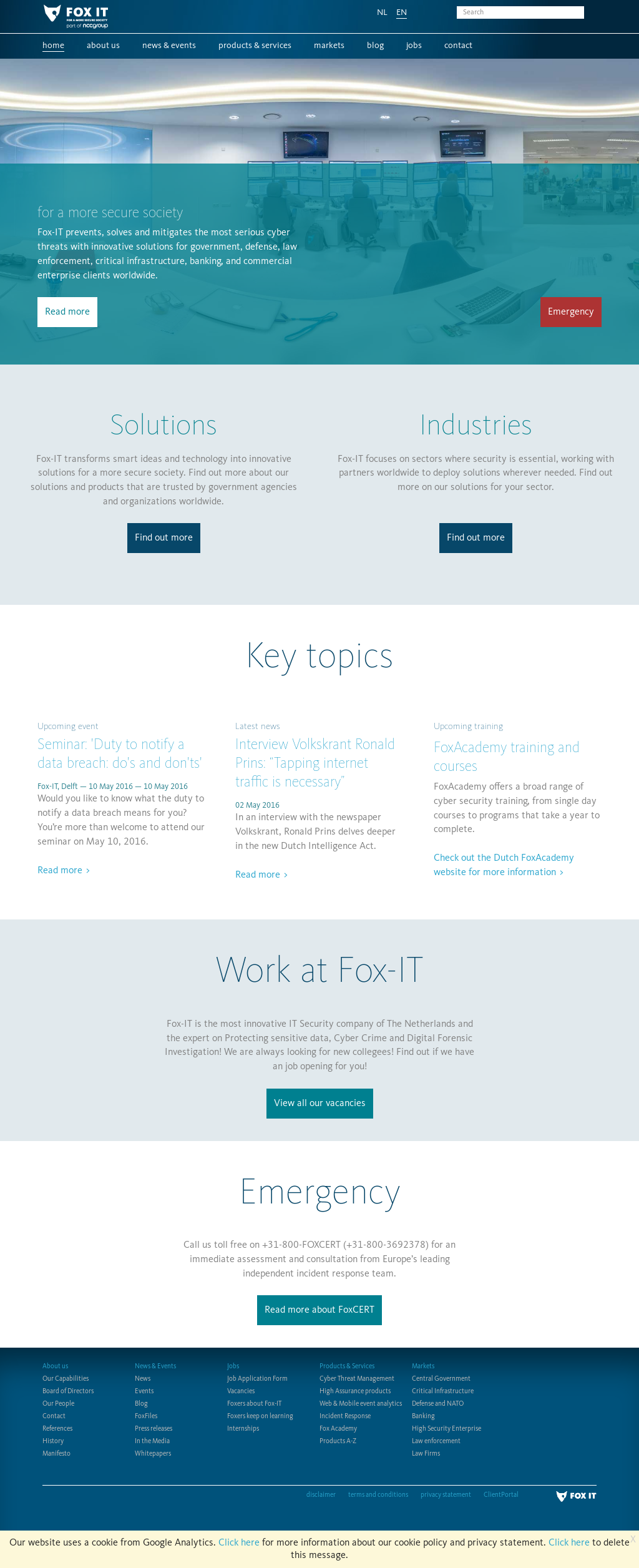 Fox-IT Competitors, Revenue and Employees - Owler Company