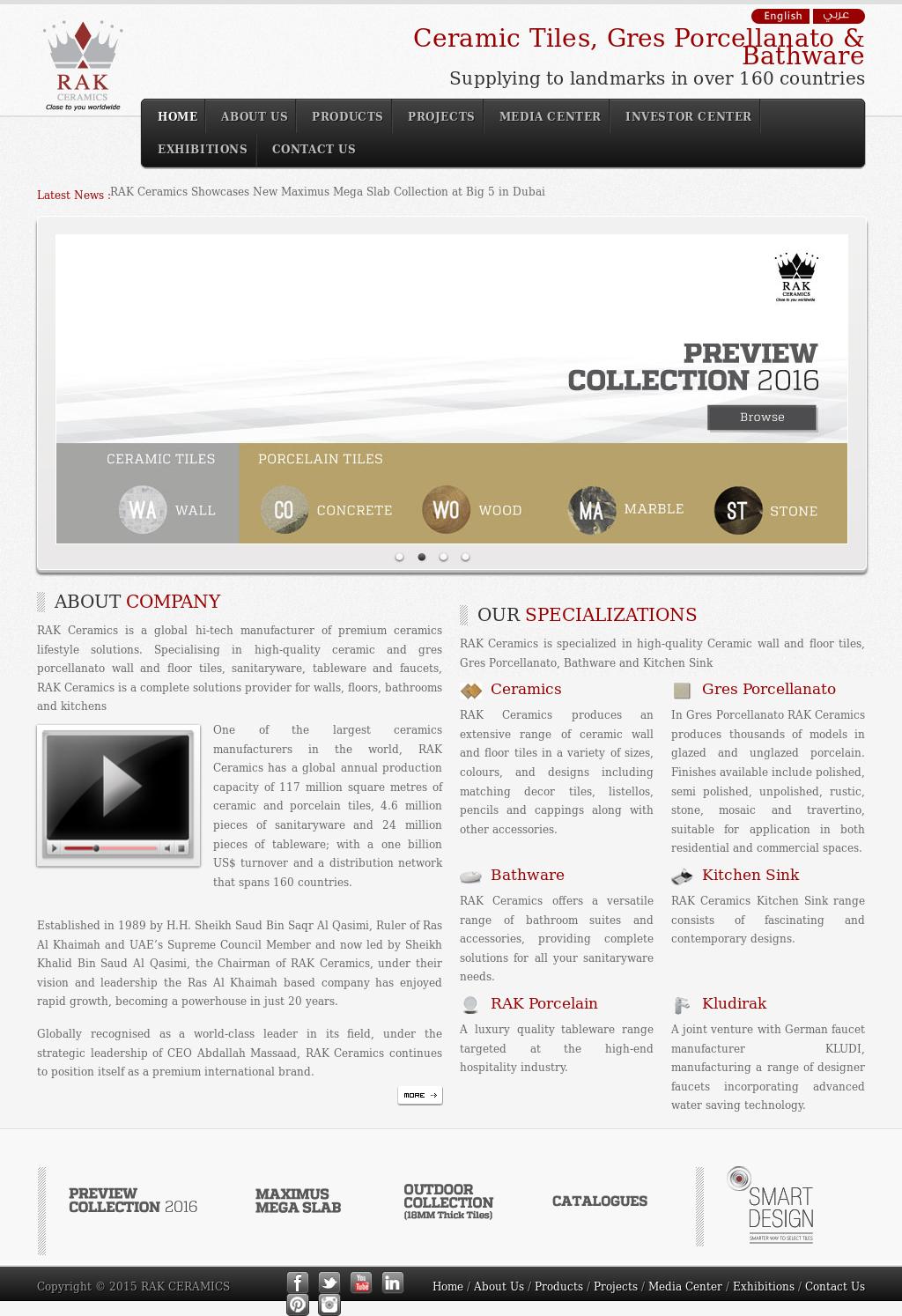 Rak ceramics company profile revenue number of employees rak ceramics website history dailygadgetfo Image collections