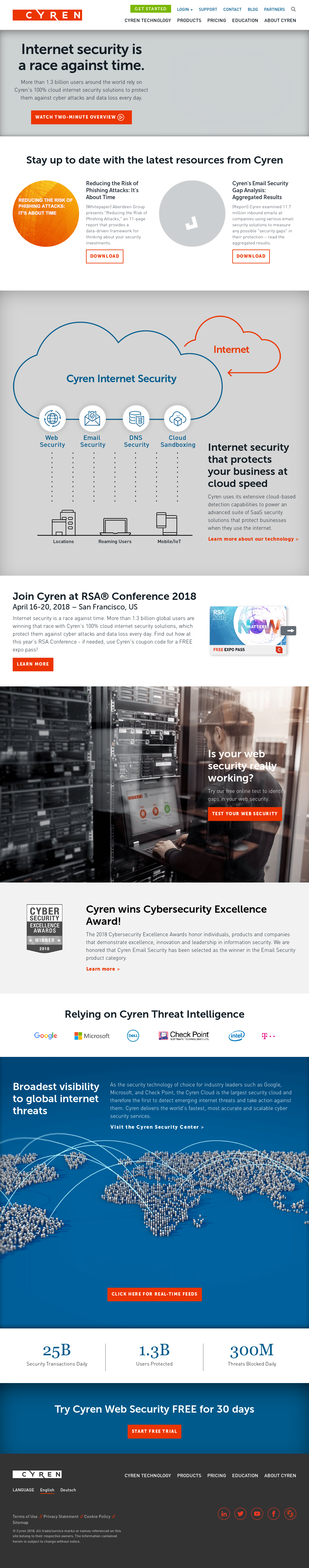 Cyren Competitors, Revenue and Employees - Owler Company Profile