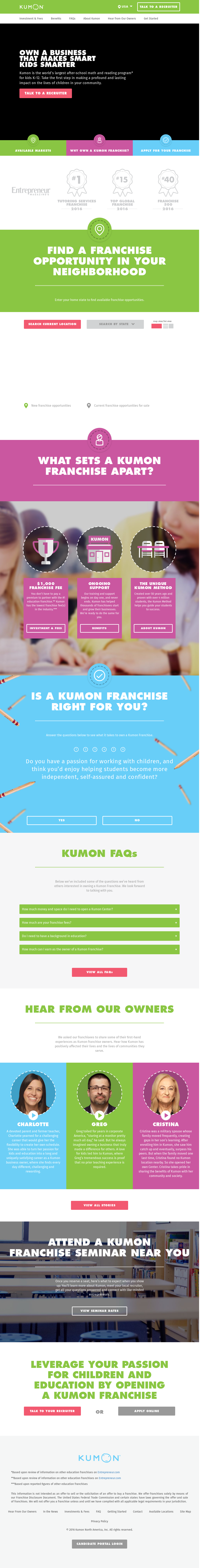 Kumonfranchise Competitors, Revenue and Employees - Owler Company ...