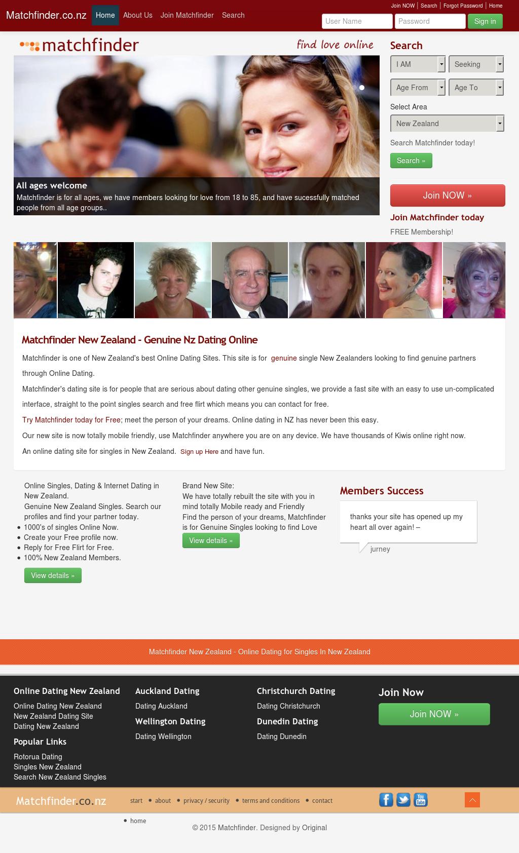 Dunedin online dating