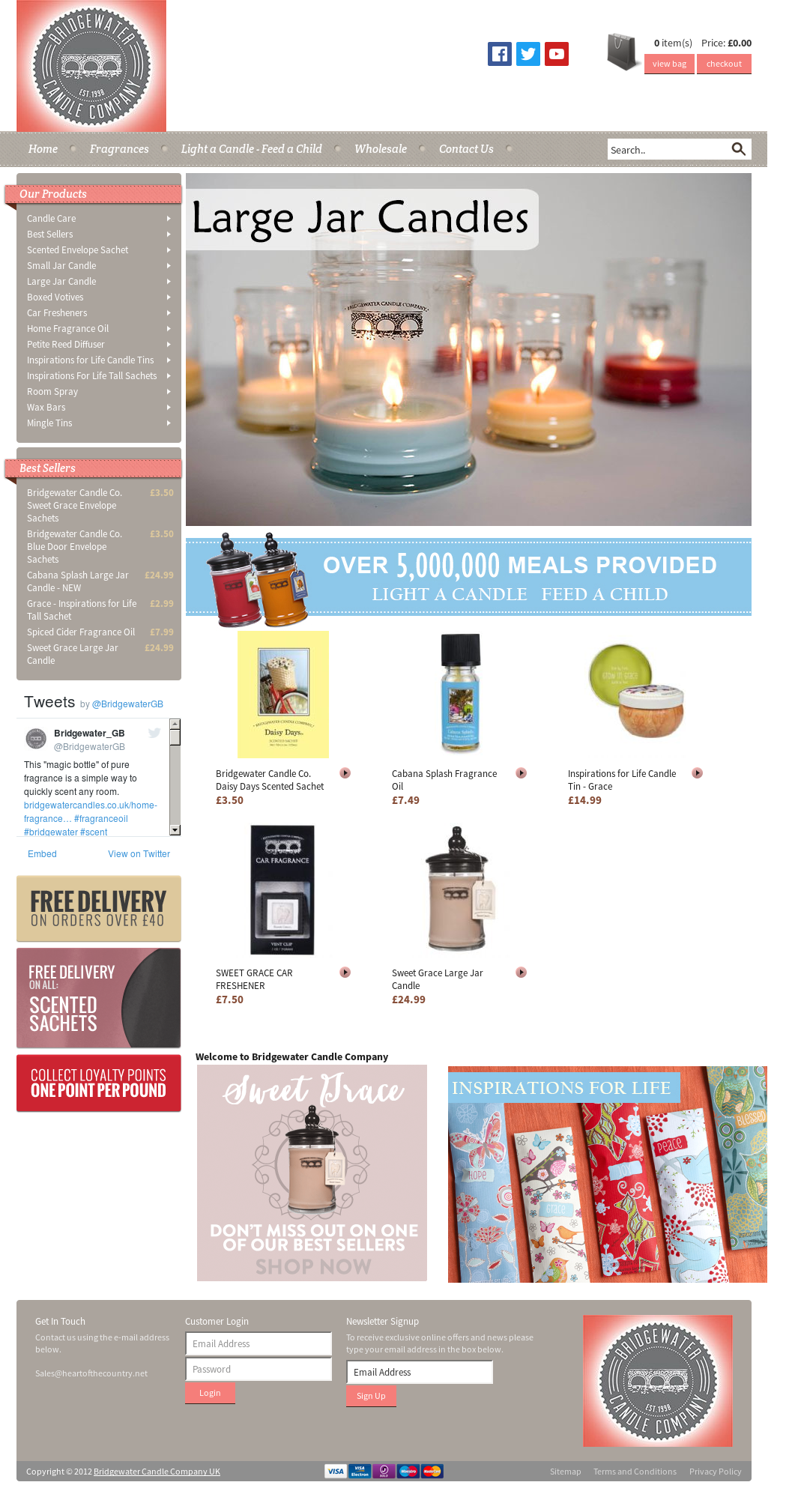 Bridgewater Candle Company Uk Competitors, Revenue and