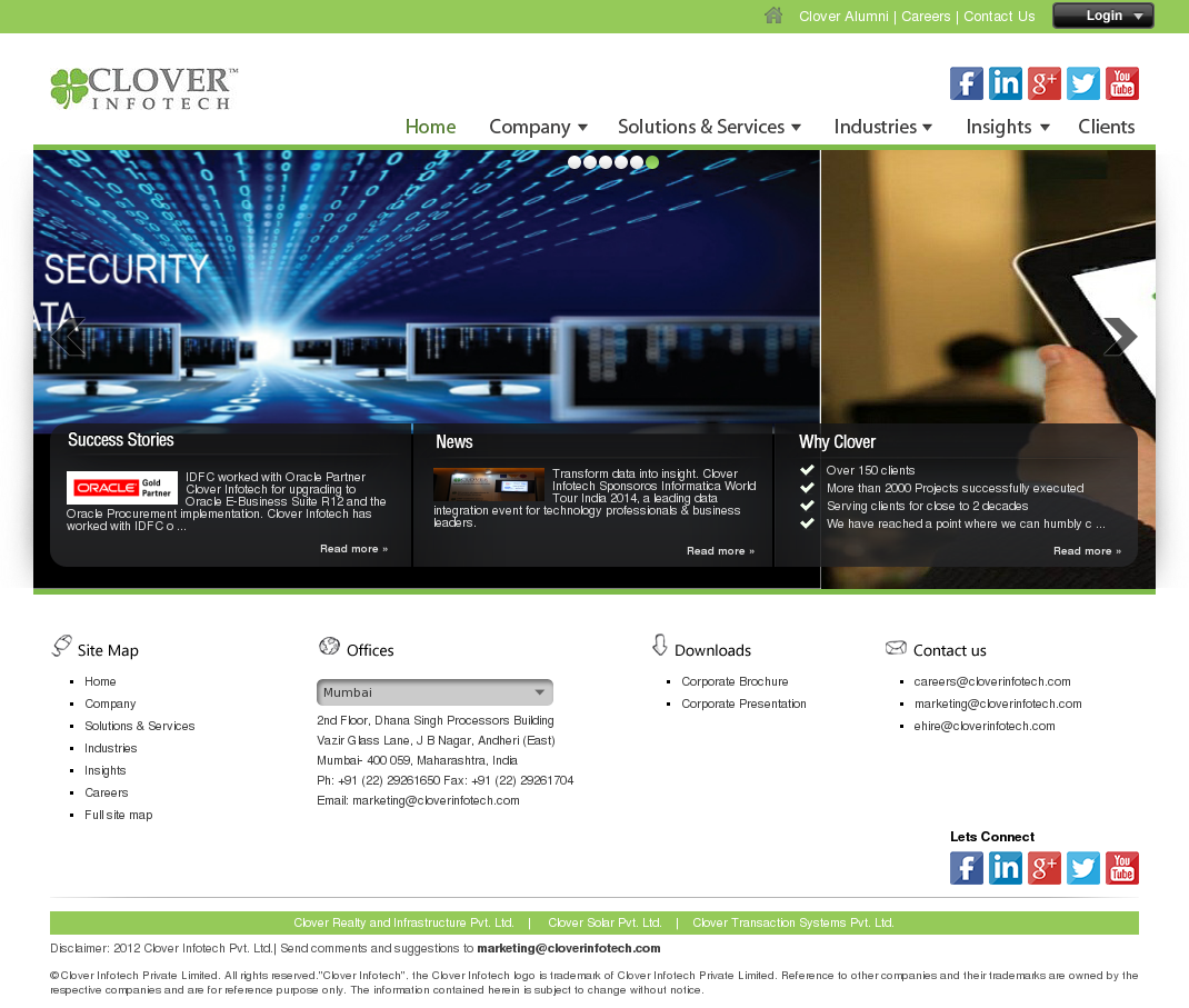Clover Infotech Competitors, Revenue and Employees - Owler