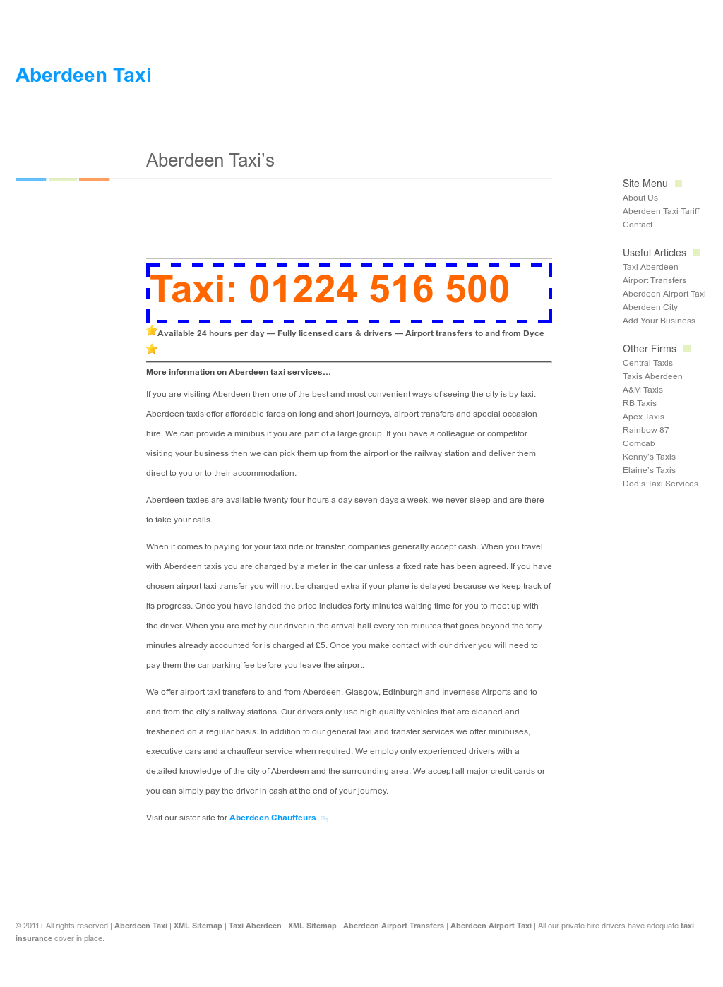 aberdeen taxi competitors revenue and employees owler company profile
